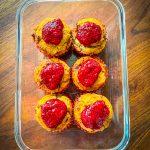 Paleo Raspberry Cupcakes